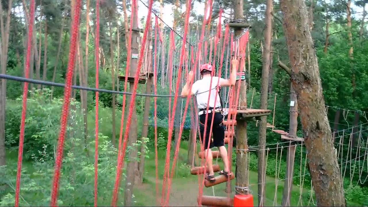 Wyprawa do parku linowego nad Wisłą